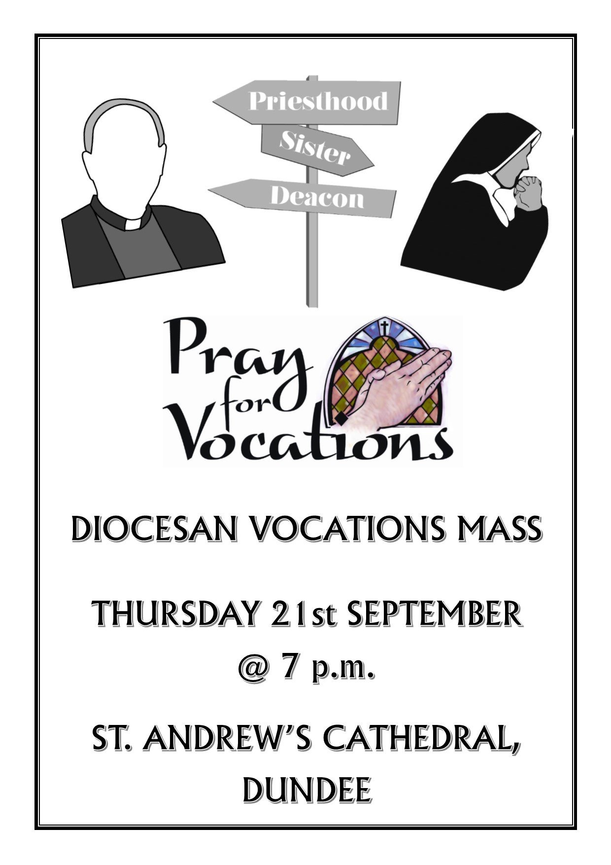 Vocations Mass @ St Andrew's Cathedral | Scotland | United Kingdom