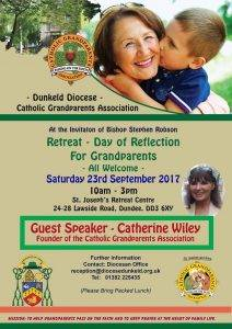 Day of Reflection for Grandparents @ St Joseph's retreat Centre   Scotland   United Kingdom