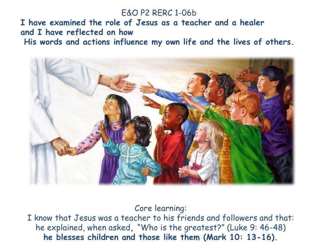 Jesus – teacher and healer – DIOCESE of DUNKELD